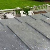 Completed two tiered flat roof work