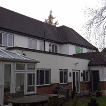 Modern semi detached houses