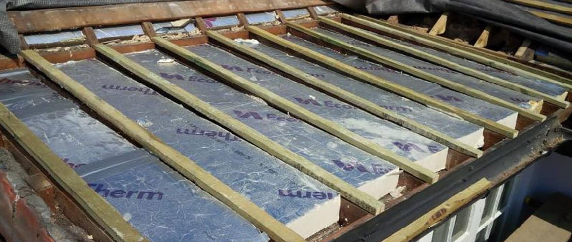 New roof work in progress