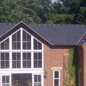 New roofing large detached house